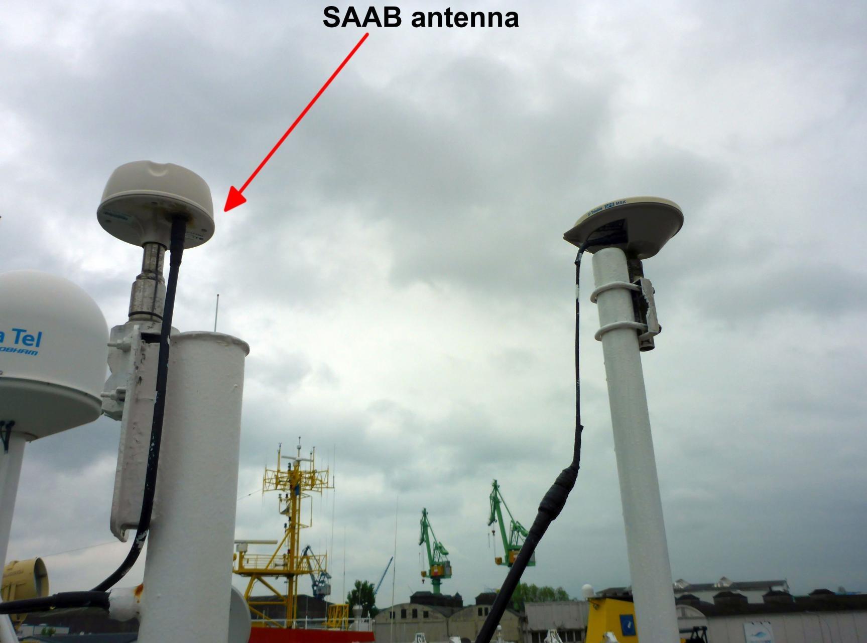 GPS Receiver DGPS SAAB R5 - FS Heincke scientific devices - Confluence